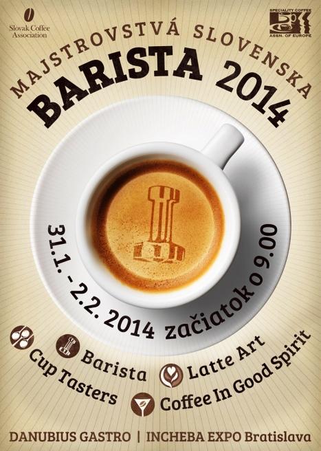 plagat final Barista 2014